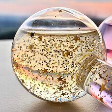 DAMIBIO Ice Globes Zlatá luxusní esence detail